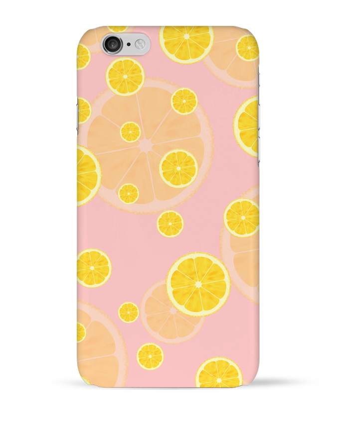 Coque 3D Iphone 6 Lemon juice par tunetoo