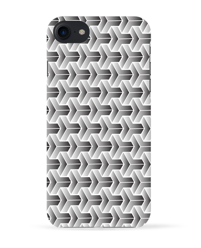 Coque 3D Iphone 7 Pattern géométrique de tunetoo