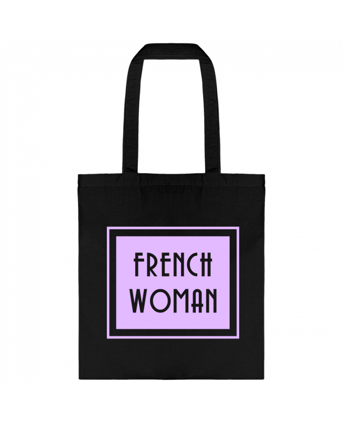 Sac en Toile Coton French woman par tunetoo