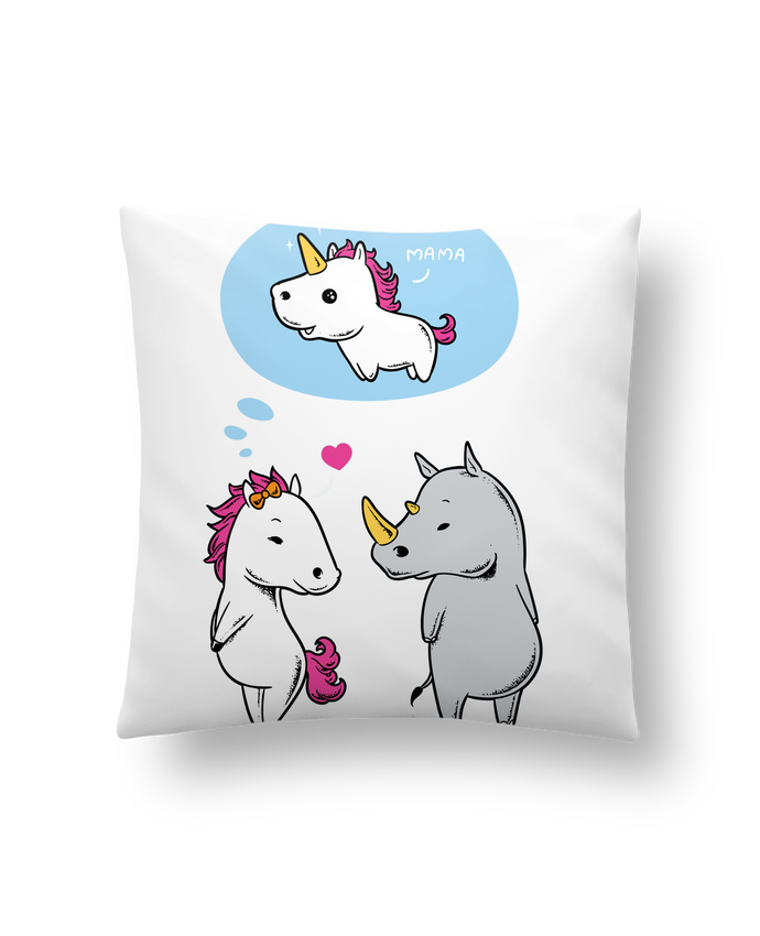 Coussin Synthétique Doux 45 x 45 cm Perfect match par flyingmouse365