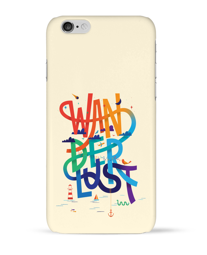 Coque 3D Iphone 6 WanderLust par chriswharton