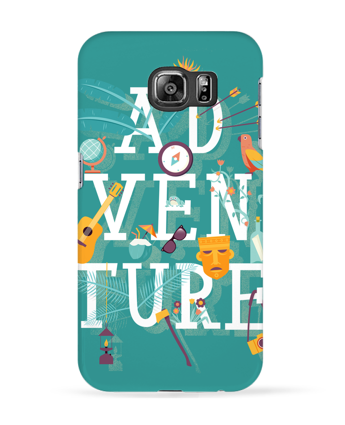 Coque 3D Samsung Galaxy S6 My Type of Adventure - chriswharton