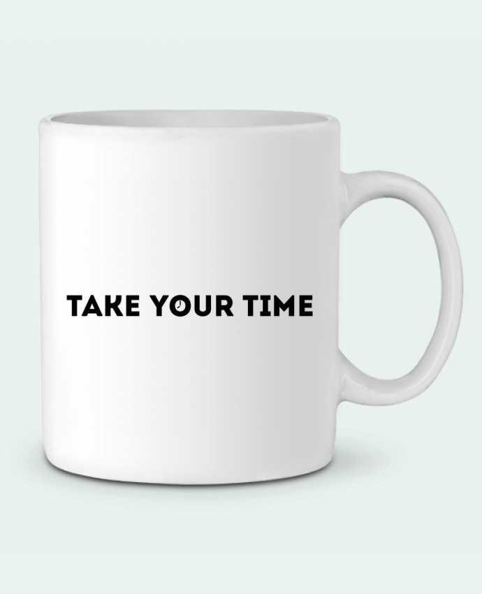 Mug en Céramique Take your time par tunetoo