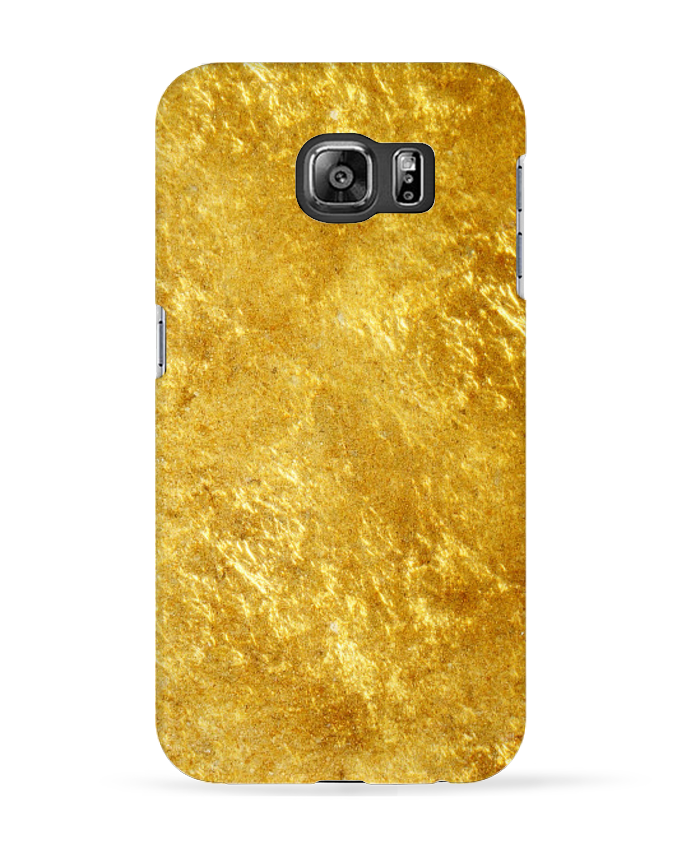 Coque 3D Samsung Galaxy S6 Gold - tunetoo