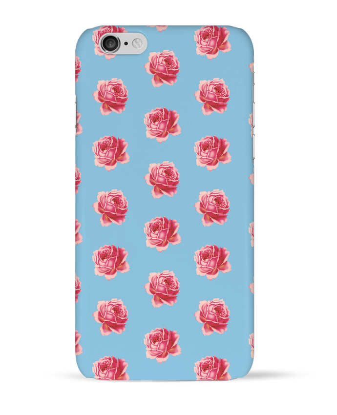 Coque 3D Iphone 6 Pattern rose par tunetoo