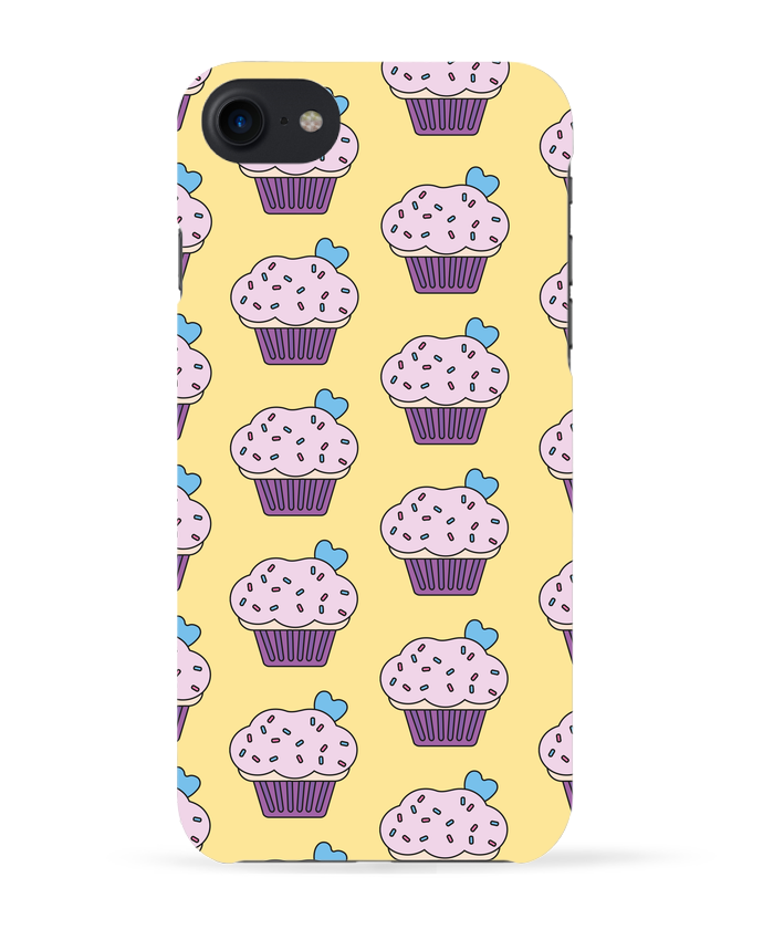 Coque 3D Iphone 7 Cupcake coeur de tunetoo