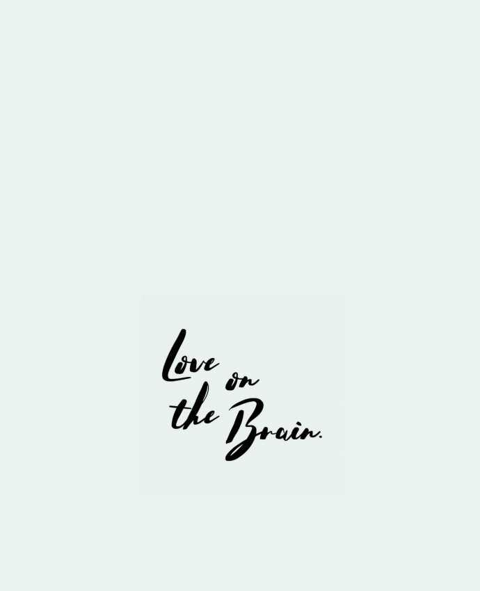 Sac en Toile Coton Love on the brain par tunetoo
