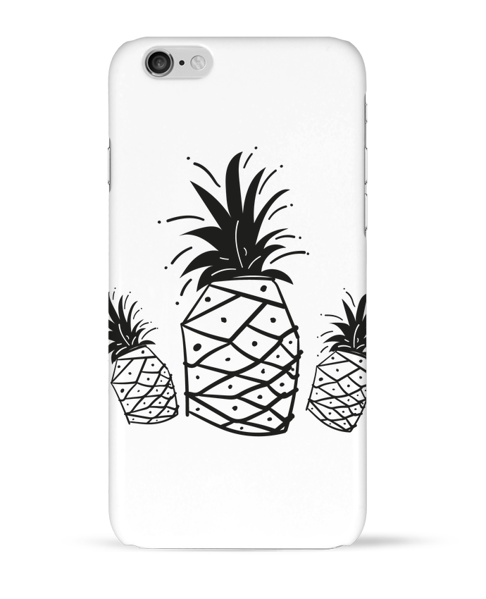Coque 3D Iphone 6 CRAZY PINEAPPLE par IDÉ'IN