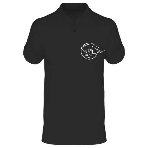 Polo homme black