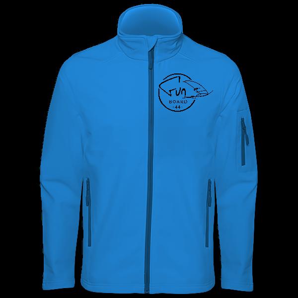 Veste soft shell homme blue