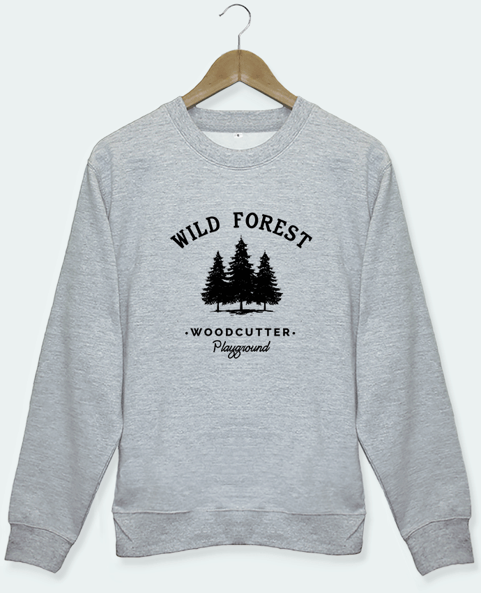 Sweat Woodcutter gris Tunetoo