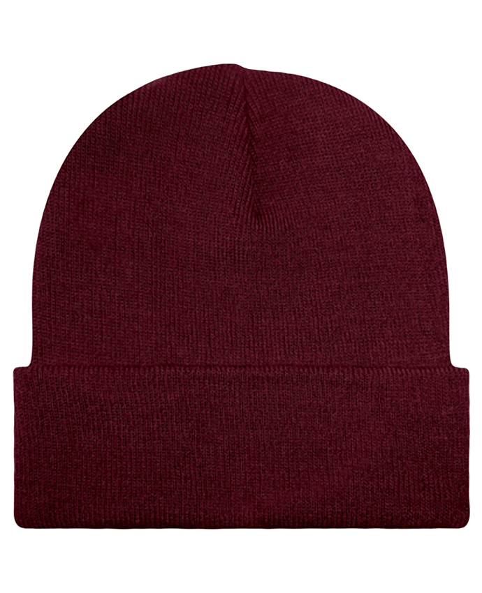 Bonnet Rive droite burgundy by Tunetoo