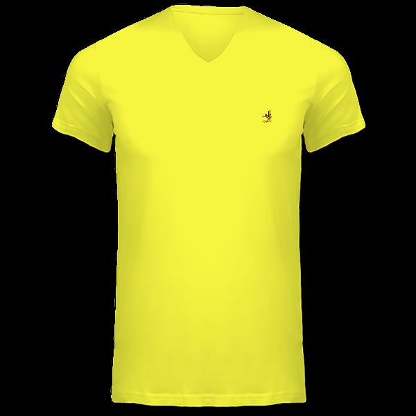 tee shirt col v manche courte kariban K357