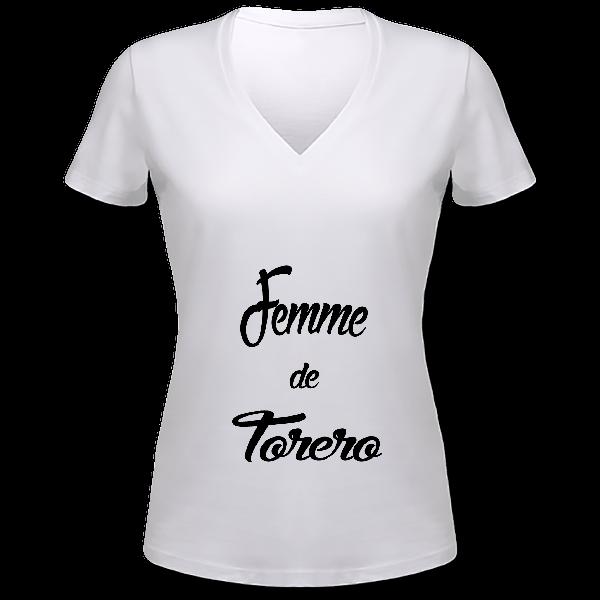 """Tee shirt"""" femme de torero """""""