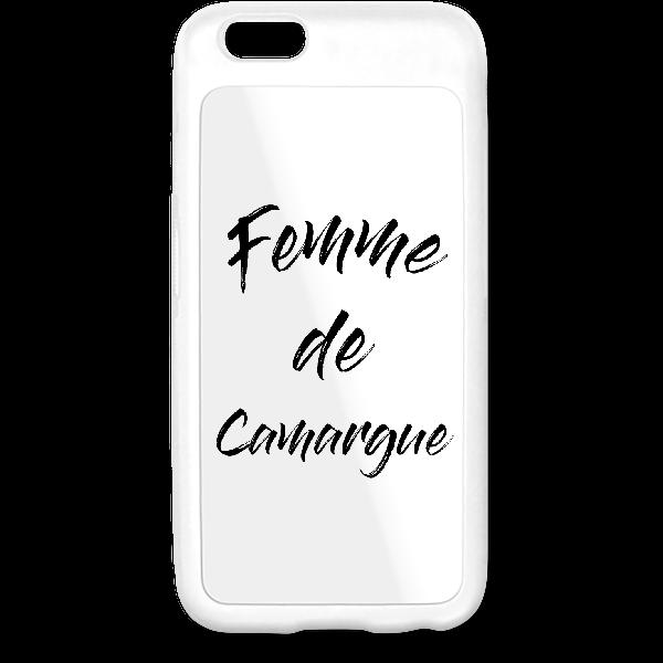 "Coque iphone 6 "" Femme de Camargue"""