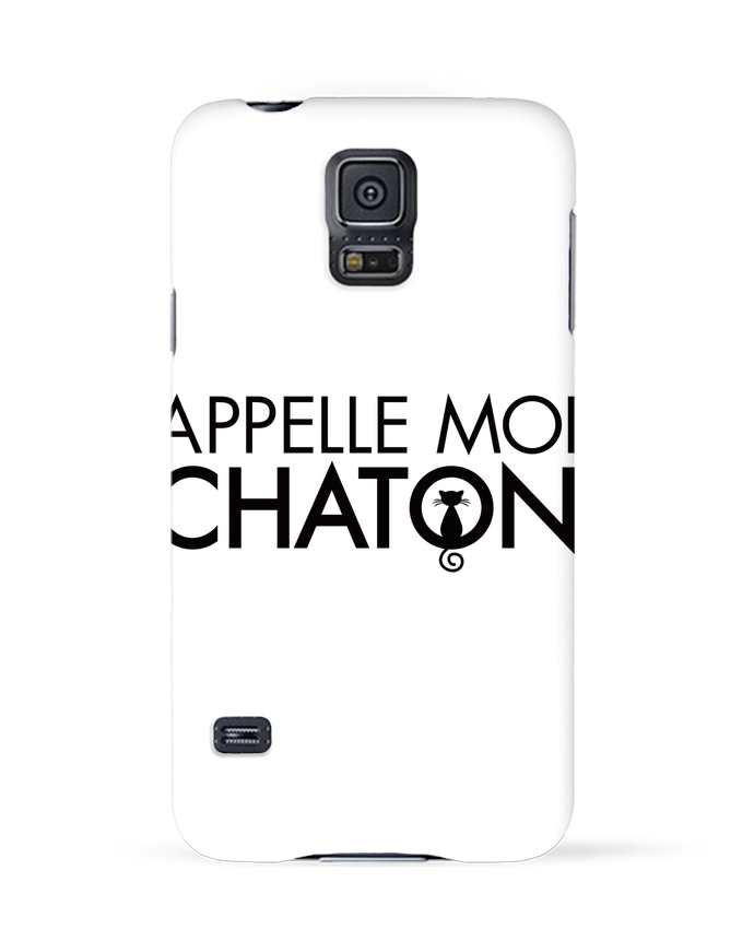coque samsung galaxy s5 appelle moi chaton tunetoo. Black Bedroom Furniture Sets. Home Design Ideas