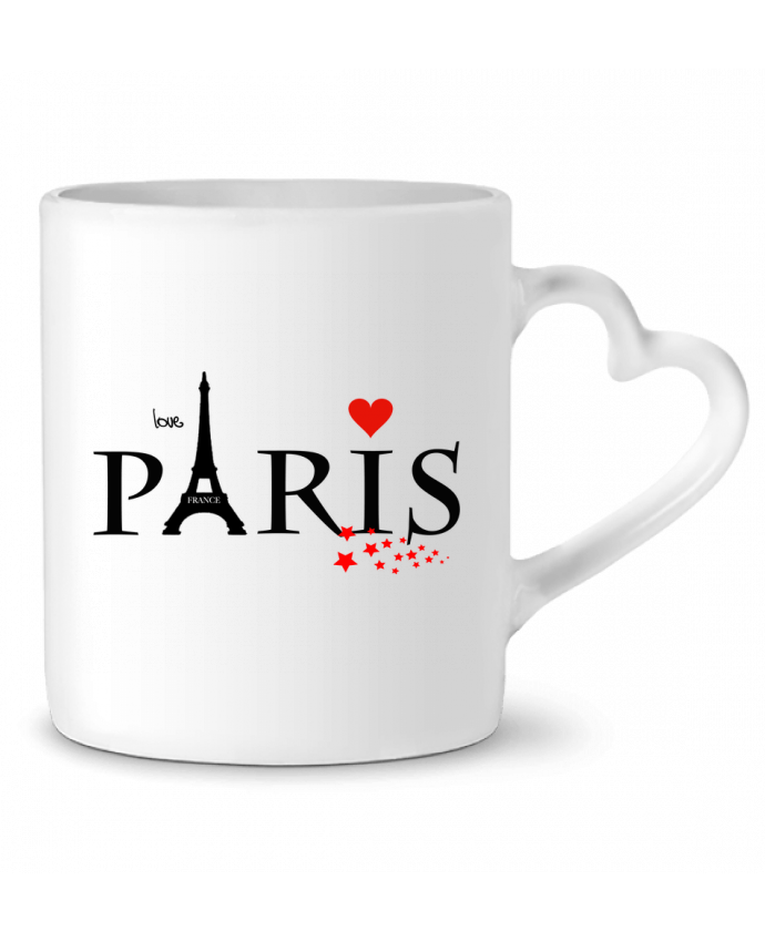 Mug Coeur Paris love par Dream Design