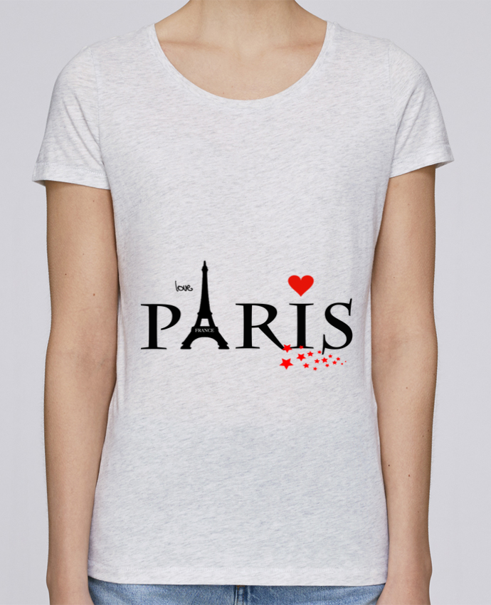 T-shirt Femme Stella Loves Paris love par Dream Design