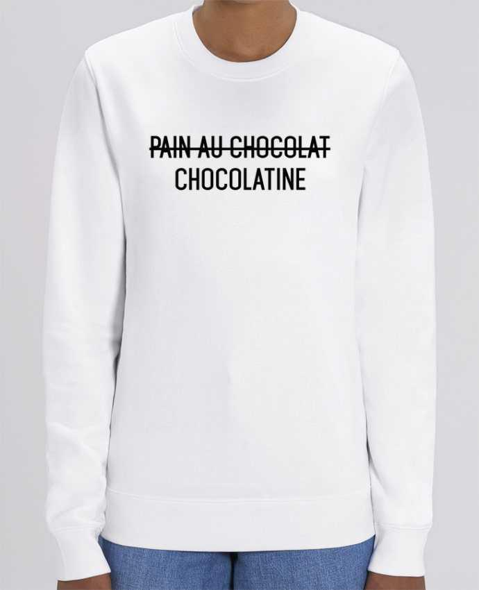 Sweat-shirt Chocolatine Par tunetoo