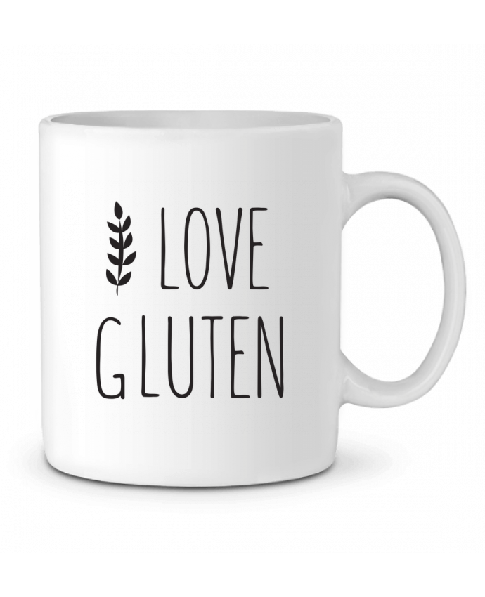 Mug en Céramique I love gluten by Ruuud par Ruuud