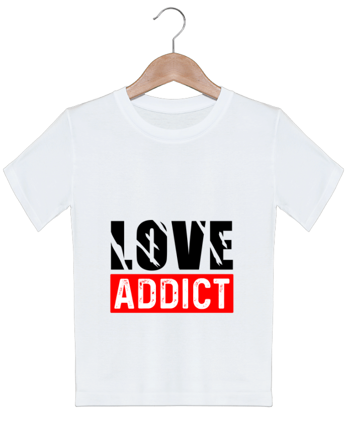 T-shirt garçon motif Love Addict sole-tshirt
