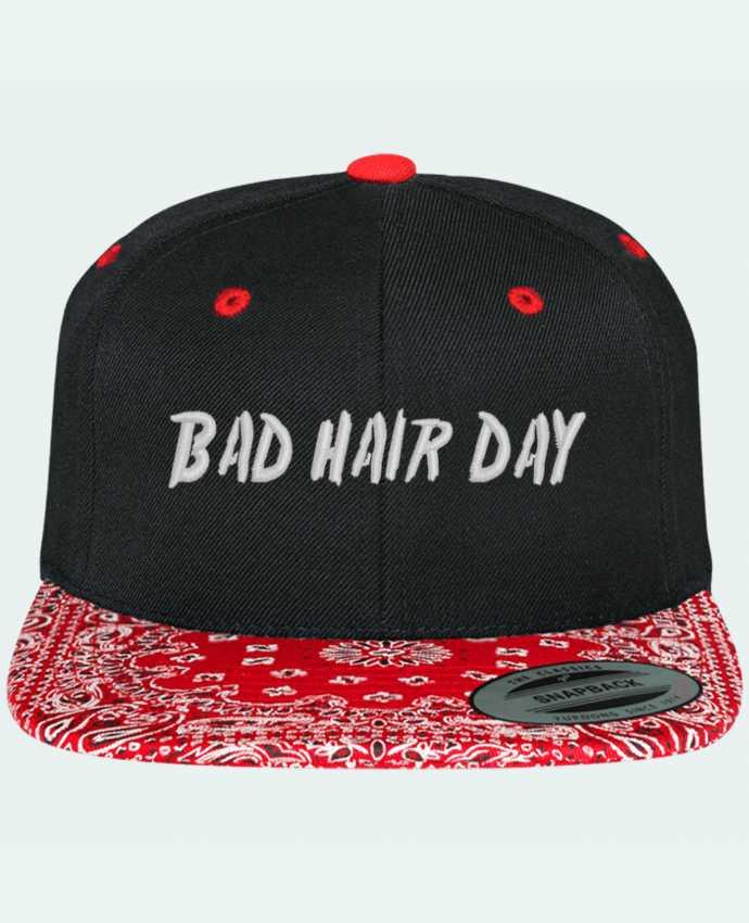 Casquette Snapback Motif Bad hair day par tunetoo