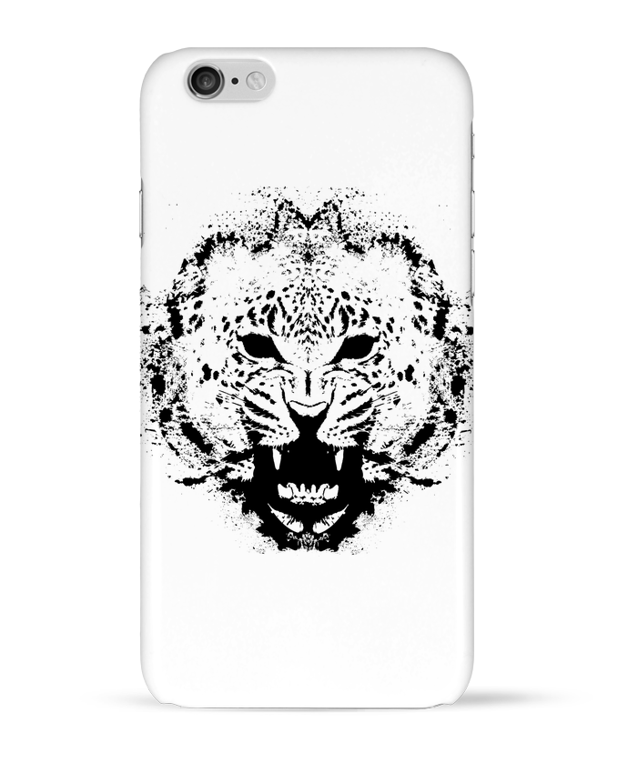 Coque 3D Iphone 6 leopard par Graff4Art