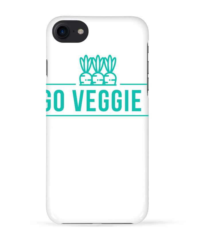 Coque 3D Iphone 7 Go veggie ! de Folie douce