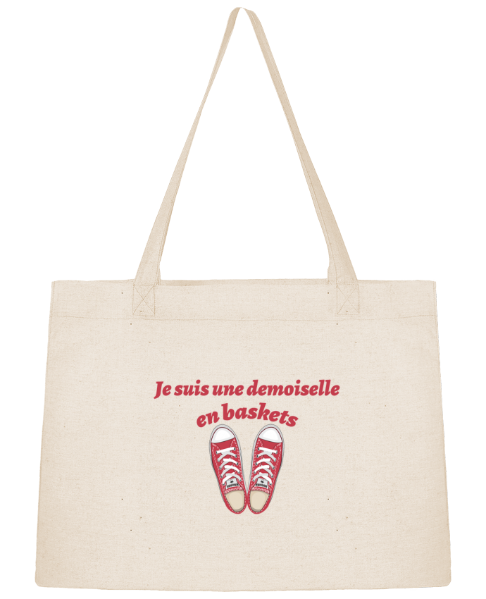Sac Shopping Je suis une demoiselle en baskets par tunetoo