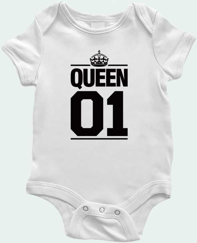 Body Bébé Queen 01 par Freeyourshirt.com