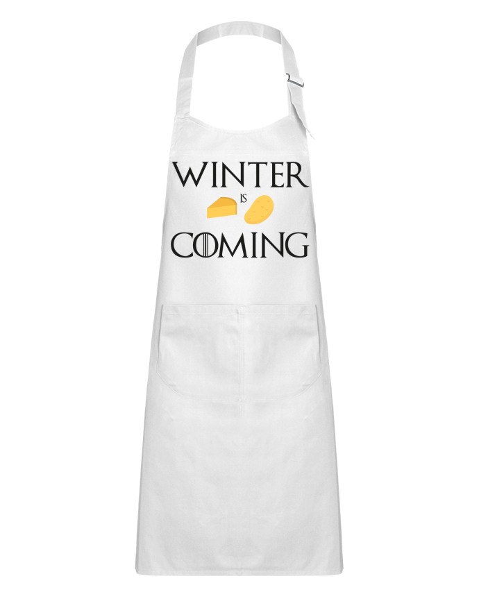 Tablier Enfant avec Poche Winter is coming par Ruuud