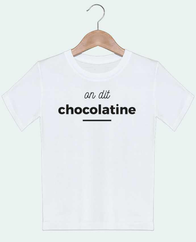 T-shirt garçon motif On dit chocolatine Ruuud