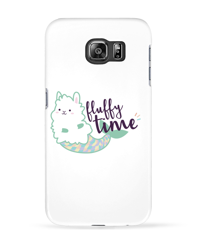 Coque 3D Samsung Galaxy S6 Mermaid Fluffy - Nana