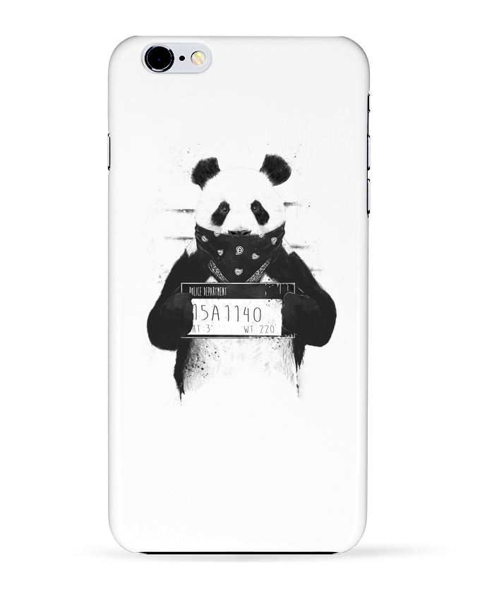 Coque 3D Iphone 6+ Bad panda de Balàzs Solti