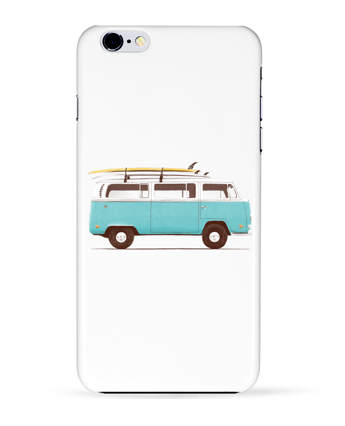 Coque 3D Iphone 6+ Blue van de Florent Bodart