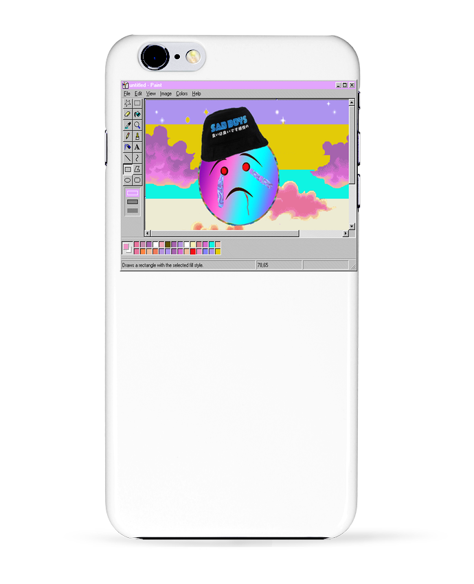 coque iphone 6 paint