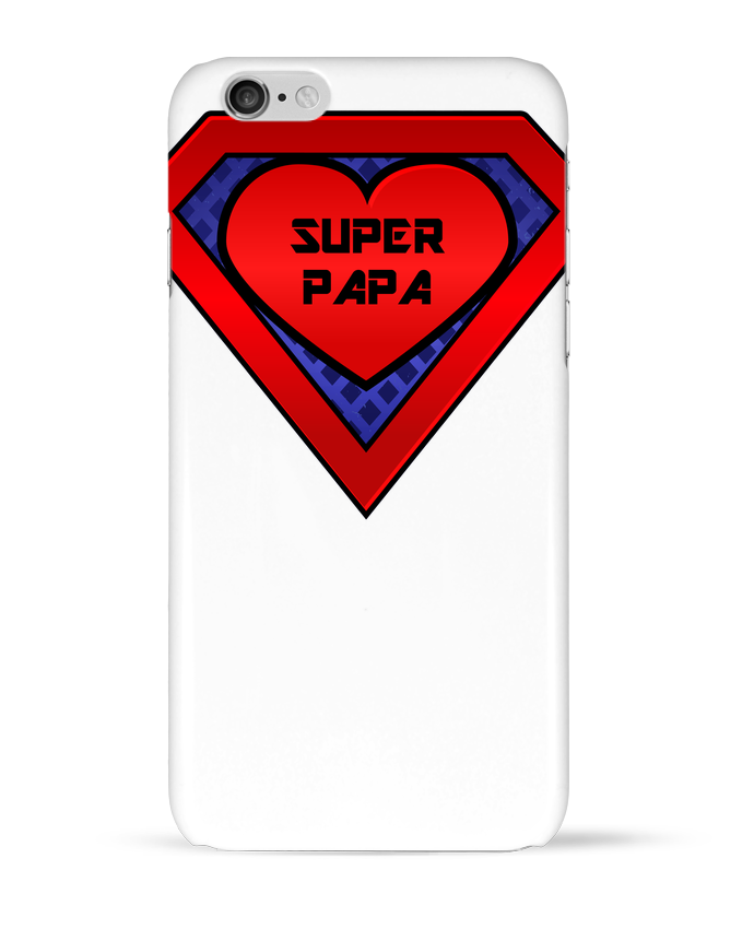 Coque 3D Iphone 6 Super papa par FRENCHUP-MAYO