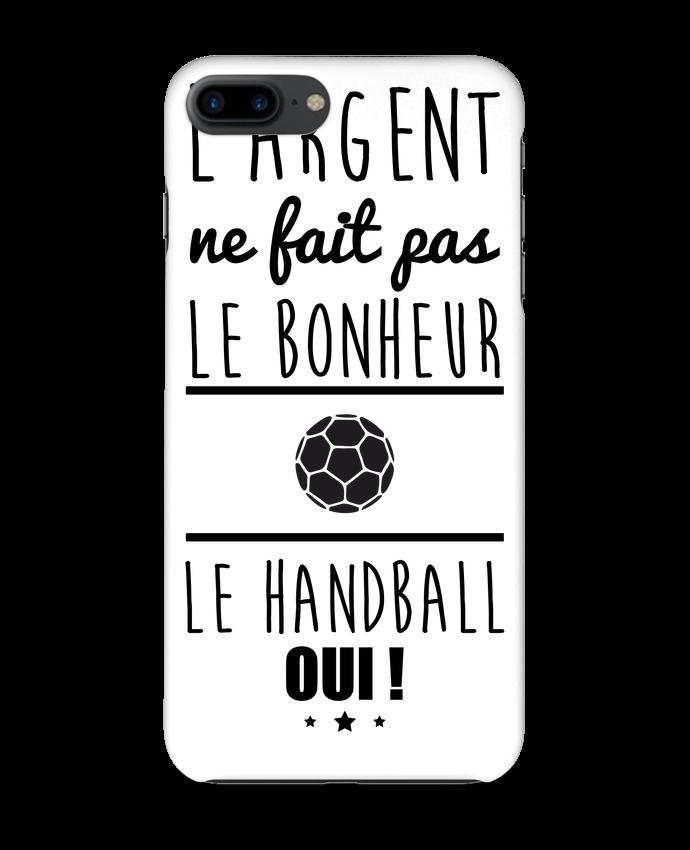 2459637 coque 3d iphone 7 blanc l argent ne fait pas le bonheur le handball oui by benichan
