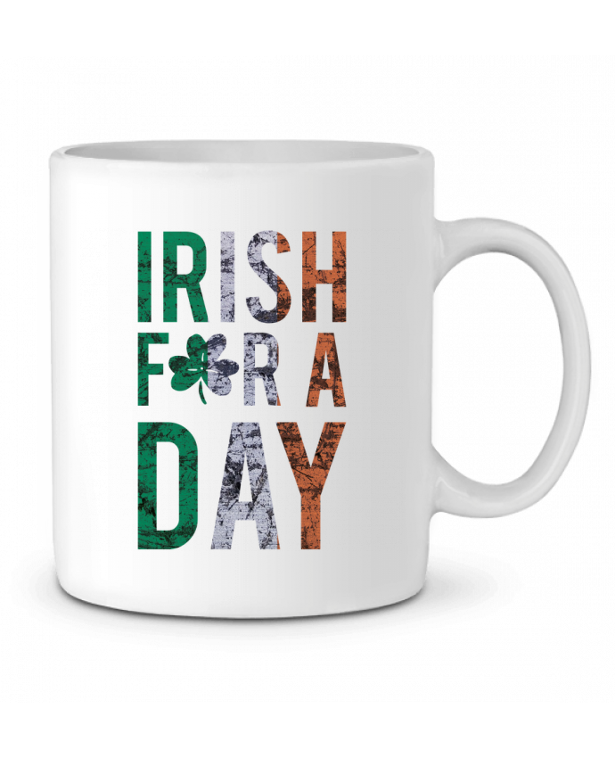 Mug en Céramique Irish for a day par tunetoo