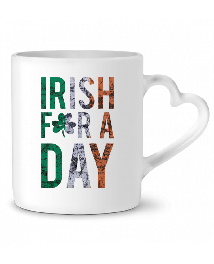 Mug Coeur Irish for a day par tunetoo
