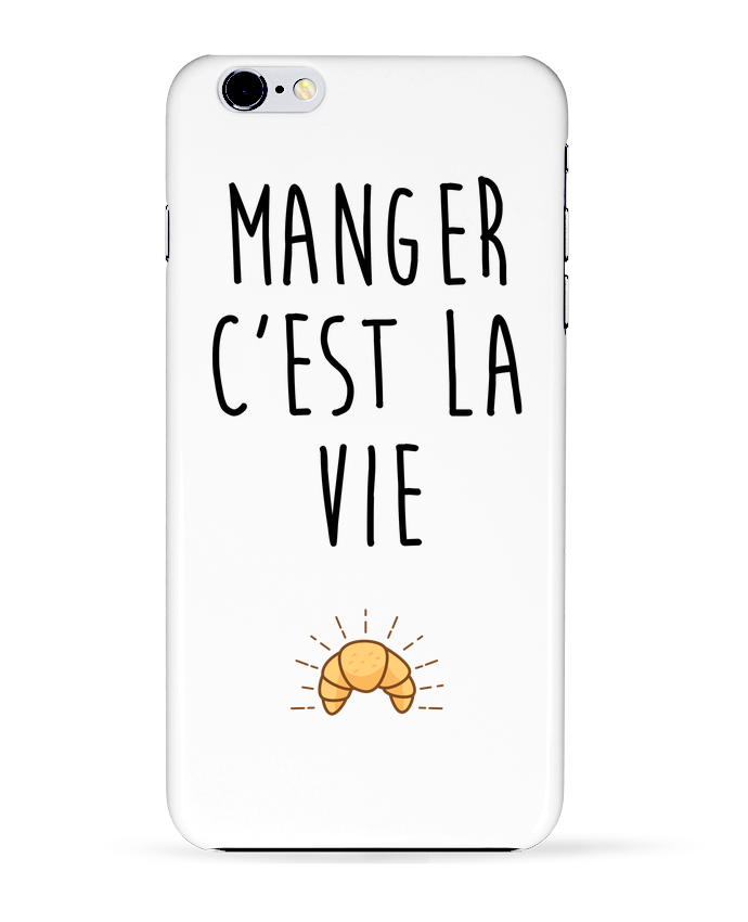 Coque 3D Iphone 6+ Manger c