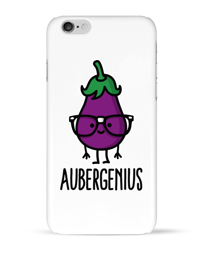 Coque 3D Iphone 6 Aubergenius par LaundryFactory