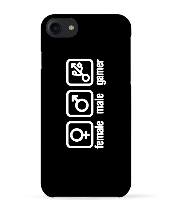 2579183 coque 3d iphone 7 blanc female male gamer by laundryfactory