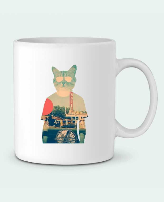 Mug en Céramique Cool cat par ali_gulec