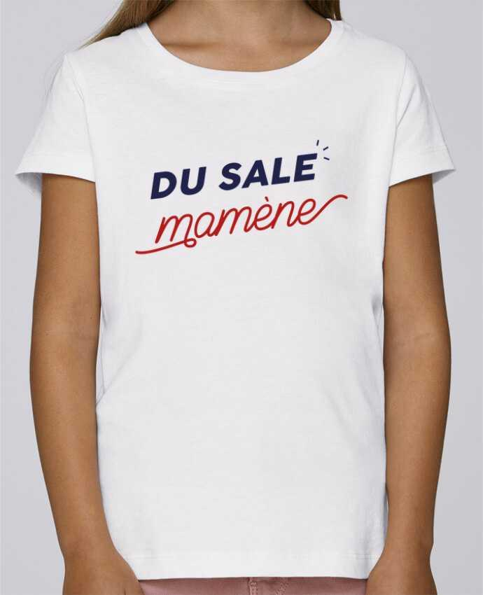 T-shirt Fille Mini Stella Draws du sale mamène by Ruuud par Ruuud