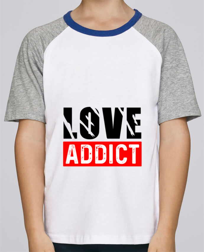 Tee-Shirt Enfant Stanley Mini Jump Short Sleeve Love Addict par Sole Tshirt