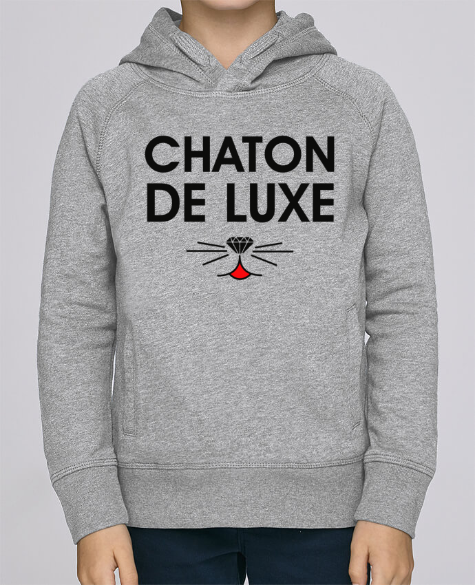 Sweat à Capuche Enfant Stanley Mini Base Chaton de luxe par tunetoo