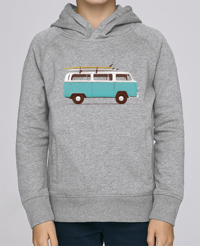 Sweat à Capuche Enfant Stanley Mini Base Blue van par Florent Bodart