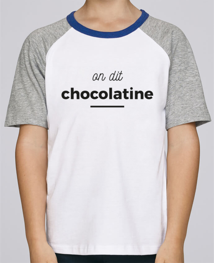 Tee-Shirt Enfant Stanley Mini Jump Short Sleeve On dit chocolatine par Ruuud