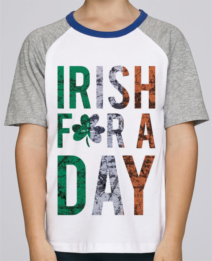 Tee-Shirt Enfant Stanley Mini Jump Short Sleeve Irish for a day par tunetoo